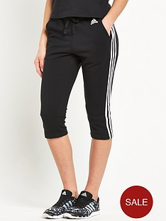 adidas-essentials-3-stripe-34-pantsnbsp