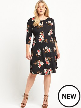 so-fabulous-curve-floral-jersey-tea-dress