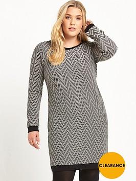so-fabulous-curve-jacquard-tunic