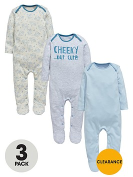 ladybird-baby-boys-cheeky-monkey-sleepsuitsnbsp3-pack