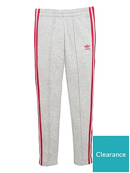 adidas-originals-older-girls-trefoil-pants-grey-heather