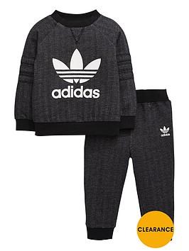 adidas-originals-adidas-originals-baby-boys-herringbone-crew-suit