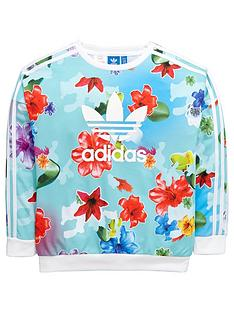 adidas-originals-adidas-originals-older-girls-floral-sweat-top