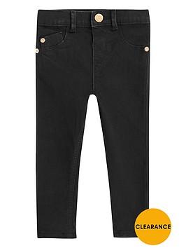 river-island-mini-girls-black-wash-skinny-jeans