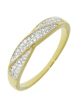 love-diamond-9ct-gold-16-point-diamond-set-crossover-ring