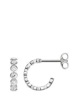 thomas-sabo-thomas-sabo-sterling-silver-cubic-zirconia-half-hoop-earring