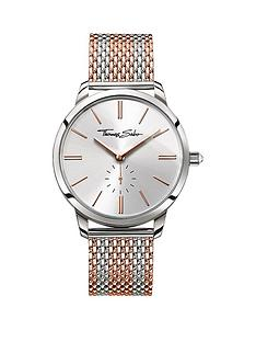 thomas-sabo-glam-spirit-silver-tone-dial-rose-accent-rose-striped-mesh-bracelet-ladies-watchnbspadd-item-ktjq4-to-basket-to-receive-free-bracelet-with-purchase-for-limited-time-only