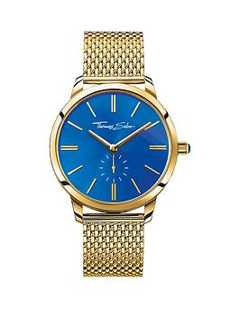 thomas-sabo-glam-spirit-blue-dial-gold-tone-mesh-bracelet-ladies-watchnbspplus-free-diamond-bracelet