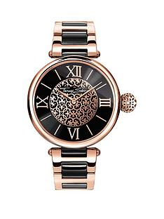 thomas-sabo-karma-black-dial-rose-detail-bracelet-ladies-watchnbspplus-free-diamond-bracelet