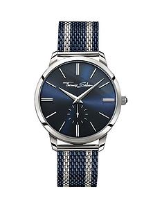 thomas-sabo-rebel-spirit-blue-dial-blue-striped-mesh-bracelet-mens-watchnbspadd-item-ktjq4-to-basket-to-receive-free-bracelet-with-purchase-for-limited-time-only