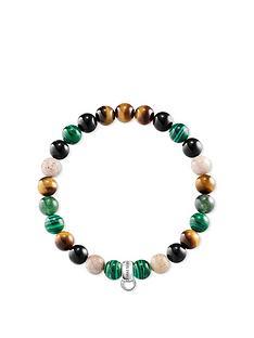 thomas-sabo-thomas-sabo-semi-precious-bead-green-mix-stretch-charm-bracelet