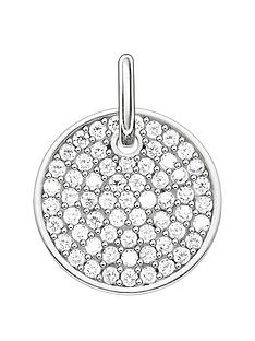 thomas-sabo-thomas-sabo-sterling-silver-cubic-zirconia-disc-love-coins-personalised-charm
