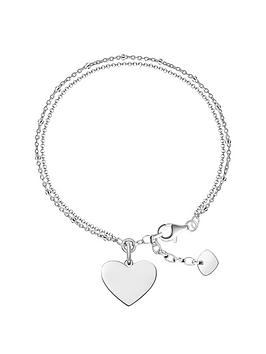 thomas-sabo-thomas-sabo-sterling-silver-polished-heart-bracelet
