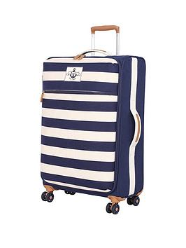 it-luggage-nautical-canvas-8-wheel-spinner-medium-case