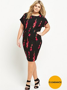 v-by-very-curve-crepe-short-sleeve-midi-dress
