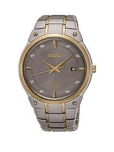 seiko-seiko-grey-dial-silver-and-gold-tone-two-tone-braclet-mens-watch