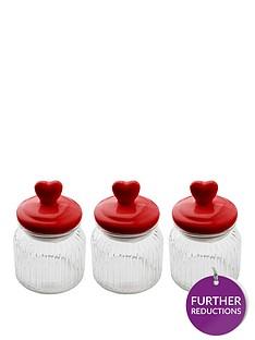 sabichi-heart-top-3-piece-glass-canister-set