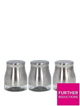 sabichi-stainless-steel-glass-3-piece-kitchen-storage-set