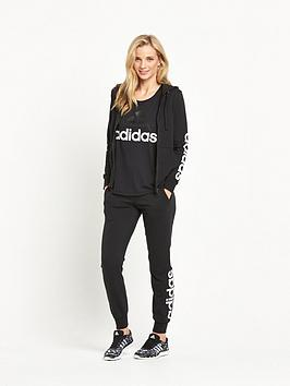Cheap Sale Eastbay Full Essentials Linear adidas Hoodie Zip nbsp Footaction Sale Online High Quality For Sale zyHLfS9BL