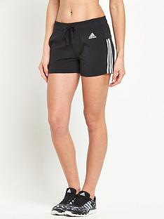 adidas-essentials-3-stripe-short