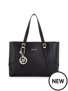 guess-isabeau-logo-charm-large-tote-bag
