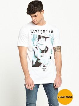 river-island-distorted-print-short-sleeve-t-shirt