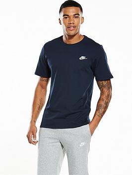 cae5c8b4 Nike Sportswear Futura Club T-Shirt | littlewoodsireland.ie