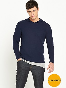 river-island-layered-longline-knitted-hooded-top