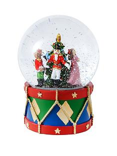 gisela-graham-nutcracker-light-up-glass-music-dome