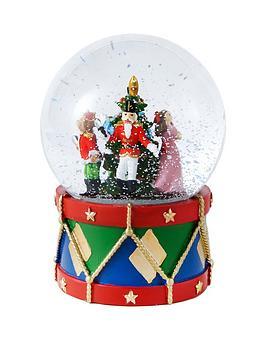 gisela-graham-nutcracker-light-up-glass-music-dome