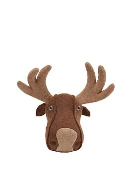 gisela-graham-moose-headnbspchristmas-decoration