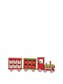 gisela-graham-wooden-train-christmas-advent-calendar