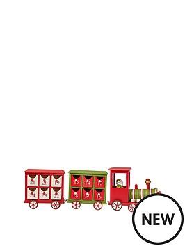 gisela-graham-wooden-train-christmas-advent-calendar