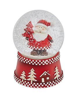 gisela-graham-musical-santa-snow-globe