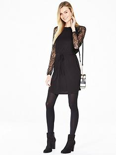 v-by-very-lace-raglan-tea-dress