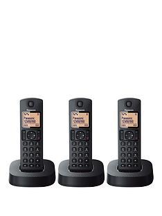 panasonic-kx-tgc313ebnbspdigital-cordless-phone-with-nuisance-call-blocker-trio-black