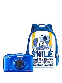 nikon-coolpix-w100-blue-backpack-kit