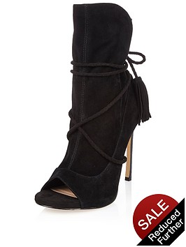river-island-tie-up-slouchy-point-heel-peep-shoe-boot