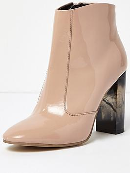 river-island-patent-tortoise-shell-heeled-ankle-boots