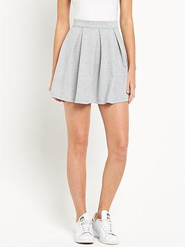 miss-selfridge-ponte-skater-skirt