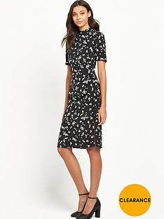 miss-selfridge-printed-satin-midi-pencil-dress