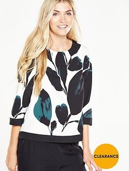 phase-eight-lisa-leaf-print-blouse