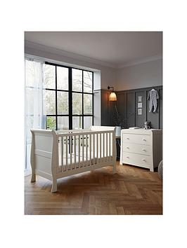 mamas-papas-mamas-amp-papas-mia-sleigh-cot-bed-and-dresser-ivory
