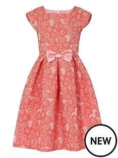 little-misdress-floral-jacquard-dress