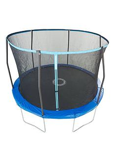 sportspower-easi-storenbsp14ft-trampoline-with-enclosure-flipnbsppad