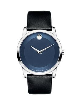 movado-movado-musuem-blue-dial-black-leather-strap-mens-watch