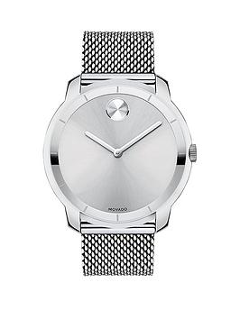 movado-bold-silver-tone-dial-stainless-steel-mesh-bracelet-mens-watch