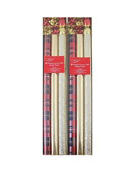 18-piece-traditional-christmas-gift-wrap-bundle