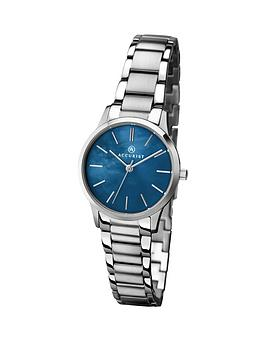 accurist-blue-dial-stainless-steel-bracelet-ladies-watch