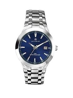 accurist-blue-dial-stainless-steel-bracelet-mens-watch